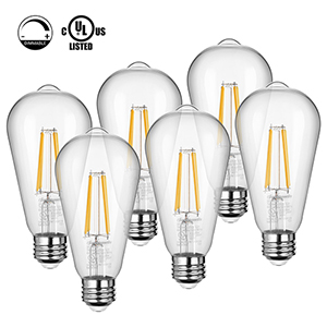 Dimmable LED Vintage Light Bulb